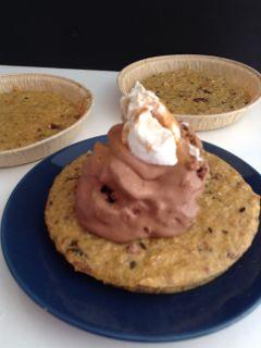 """Mousse di cioccolato su tartina di """" pancotto"""": la buonamerenda"""