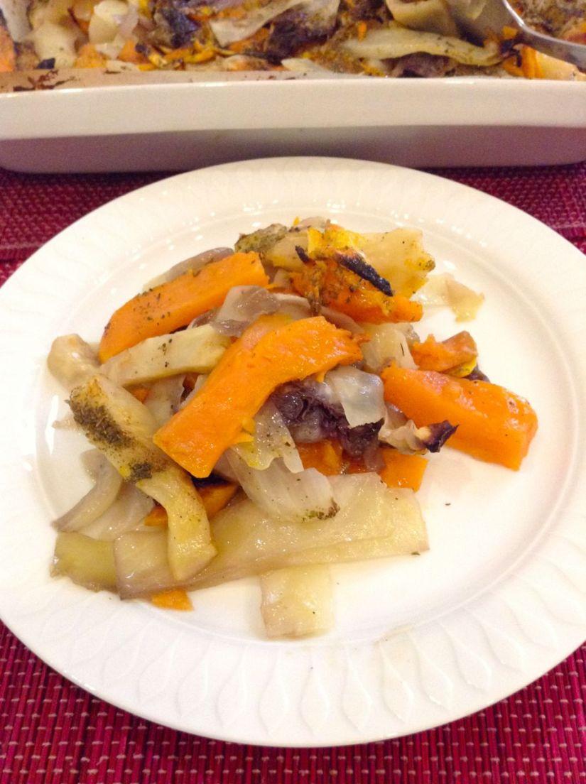 Verdure al forno all' arancia: piatto detox dopo lefeste