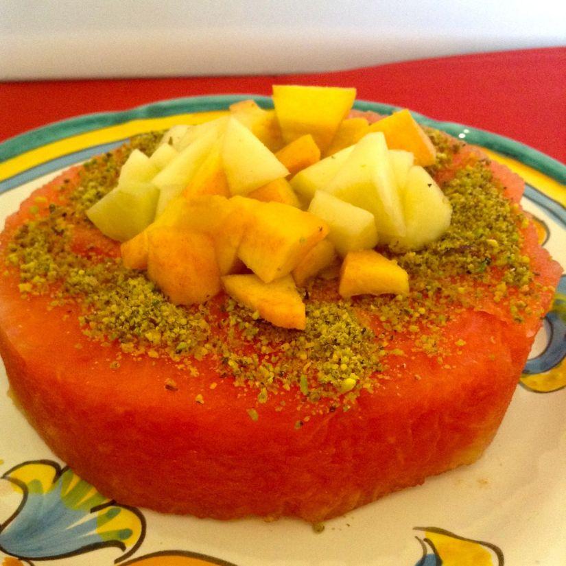 Torta di frutta veloce, senza cottura e con moltogusto